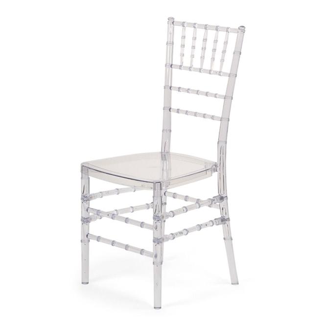 Discount Clear Ice Chivari Chairs Resin Cheap Chiavari Chivari
