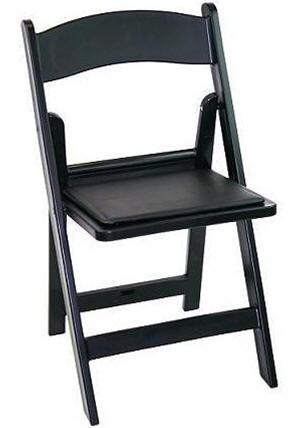 Oklahoma Resin Folding Chairs CHEAP DISCOUNT Black Resin