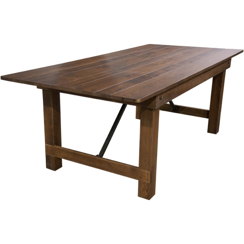 FREE SHIPPING PRICES FARM TABLES, DISCOUNT FOLDING FARM