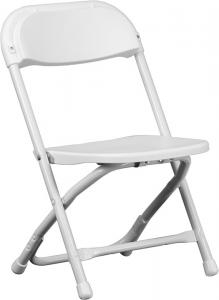 Kids White Plastic Folding Chair   Los Angeles Cheap Plastic Folding Chairs,  White Poly Samsonite Folding Chairs, Lowest Prices Folding Chairs