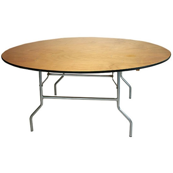 Free shipping free 72 39 round folding tables banquet for Inexpensive round tables