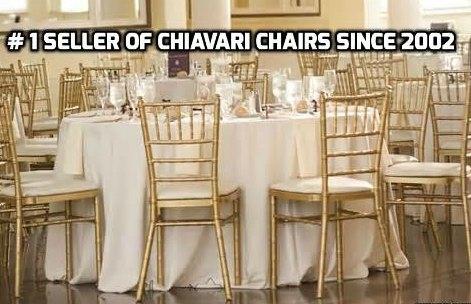 100 CHIAVARI WOOD CHAIRS W FREE ...