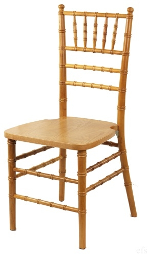 NATURAL WOOD CHIAVARI CHAIR ...