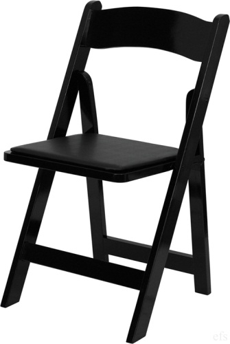 Black Wood Folding Chair  sc 1 st  Folding Chairs Tables Discount : foldable wooden chairs - Cheerinfomania.Com