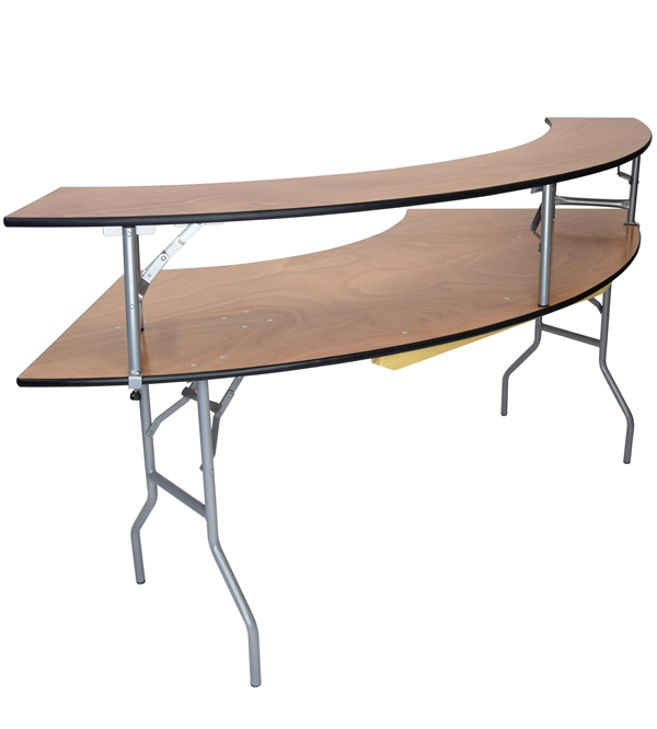 Bar Top Plywood Folding Table Banquet Cheap Wholesale