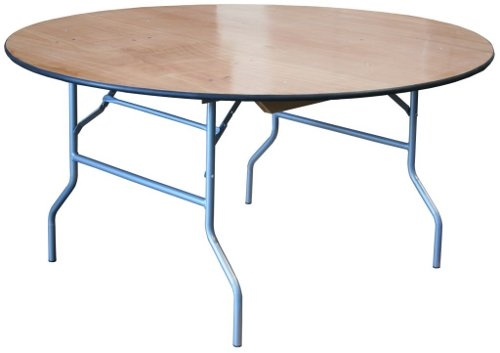 Florida Cheap Wood Round Folding Tables 66 Banquet Folding