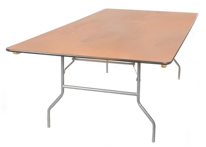 48 X 96 Quot Plywood Folding Tables Oklahoma Wholesale